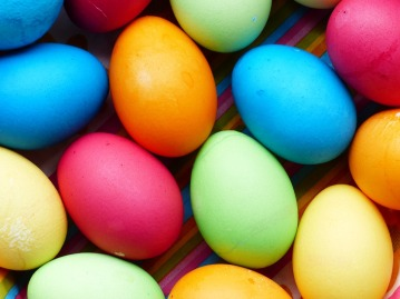Easter Eggs Egg Easter Color Colorful Paint